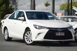 2015 Toyota Camry AVV50R Atara S White 1 Speed Constant Variable Sedan Hybrid Macgregor Brisbane South West Preview