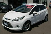 2012 Ford Fiesta WT Zetec PwrShift White 6 Speed Sports Automatic Dual Clutch Hatchback Run-o-waters Goulburn City Preview