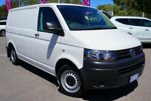 2014 Volkswagen Transporter T5 MY14 TDI250 SWB Runner Candy White 5 Speed Manual Van