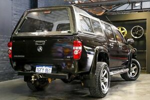 2009 Holden Colorado RC MY09 LX Crew Cab Black 4 Speed Automatic Utility Northbridge Perth City Area Preview