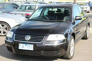 2004 Volkswagen Passat GP MY2003 SE V6 Black 5 Speed Sports Automatic Sedan Heatherton Kingston Area Preview