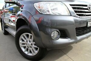 2013 Toyota Hilux KUN26R MY12 SR5 (4x4) Grey 4 Speed Automatic Dual Cab Pick-up Waitara Hornsby Area Preview
