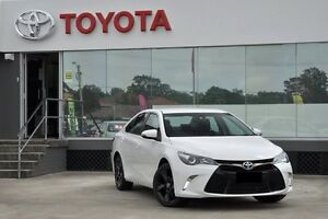 2016 Toyota Camry ASV50R MY15 Atara SX Diamond White 6 Speed Automatic Sedan Old Guildford Fairfield Area Preview