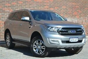 2016 Ford Everest UA Trend Silver 6 Speed Sports Automatic Wagon Woodbridge Swan Area Preview