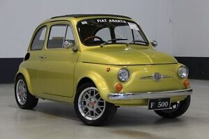 1969 Fiat 500 D SUN-Roof Yellow 4 Speed Manual Sedan Bentley Canning Area Preview