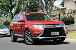 2015 Mitsubishi Outlander ZK MY16 Exceed 4WD Burgundy 6 Speed Sports Automatic Wagon Nailsworth Prospect Area Preview