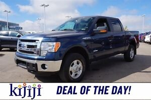 2014 Ford F-150 4WD SUPERCREW Accident Free,  A/C,