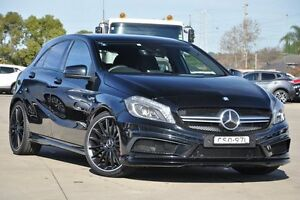 2013 Mercedes-Benz A45 176 AMG Black 7 Speed Auto Dual Clutch Hatchback Greenacre Bankstown Area Preview