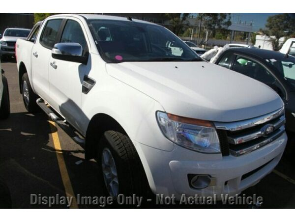 2014 Ford Ranger 4X4 PU XLT XLT 3.2 (4x4) Cool White 6 Speed Automatic Utility