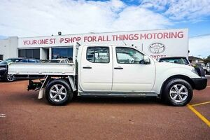 2012 Nissan Navara D40 S6 MY12 ST White 6 Speed Manual Utility Westminster Stirling Area Preview