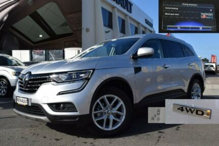 2016 Renault Koleos HZG Zen X-tronic Silver 1 Speed Constant Variable Wagon