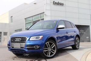 2017 Audi SQ5 3.0T|Navigation|Panoramic Roof|Back Up Cam