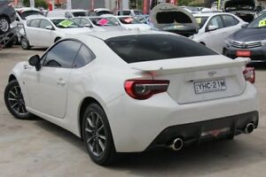 2017 Toyota 86 ZN6 GT White 6 Speed Sports Automatic Coupe