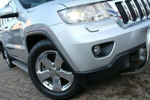 2012 Jeep Grand Cherokee WK MY12 Laredo (4x4) Silver 5 Speed Automatic Wagon Zetland Inner Sydney Preview