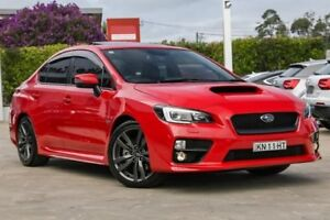 2016 Subaru WRX V1 MY16 Premium Lineartronic AWD Red 8 Speed Constant Variable Sedan Gosford Gosford Area Preview