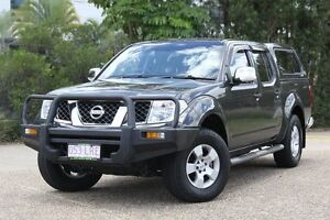 2009 Nissan Navara D40 ST-X Grey 5 Speed Automatic Utility Underwood Logan Area Preview