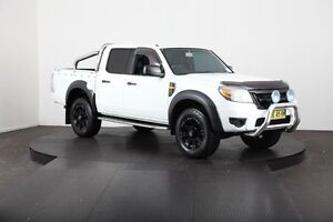 2009 Ford Ranger PK XL (4x4) White 5 Speed Manual Dual Cab Pick-up Mulgrave Hawkesbury Area Preview