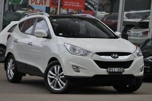 2010 Hyundai ix35 LM Highlander (AWD) White 6 Speed Automatic Wagon Dee Why Manly Area Preview