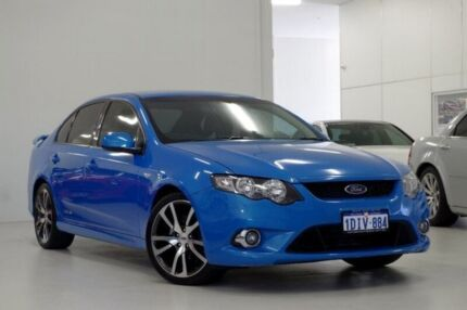 2010 Ford Falcon FG XR6 Blue 5 Speed Sports Automatic Sedan Myaree Melville Area Preview