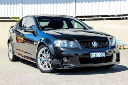2010 Holden Commodore VE II SS Black 6 Speed Automatic Sedan Cannington Canning Area Preview