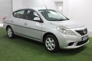 2013 Nissan Almera N17 ST Silver 4 Speed Automatic Sedan Moonah Glenorchy Area Preview
