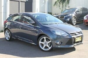 2013 Ford Focus LW MKII Titanium PwrShift Grey 6 Speed Sports Automatic Dual Clutch Hatchback Wolli Creek Rockdale Area Preview