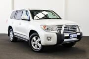 2015 Toyota Landcruiser VDJ200R MY13 Sahara Crystal Pearl 6 Speed Sports Automatic Wagon Myaree Melville Area Preview