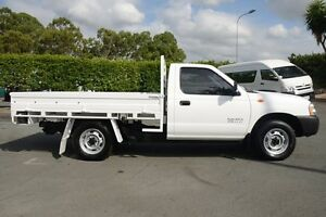 2011 Nissan Navara D22 MY2010 DX White 5 Speed Manual Cab Chassis Acacia Ridge Brisbane South West Preview