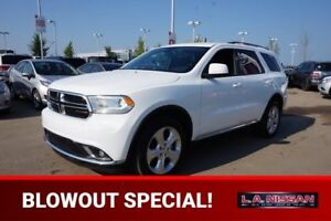 2015 Dodge Durango ALL WHEEL DRIVE Accident Free,  3rd Row,  Blu