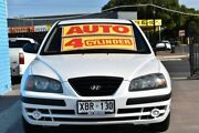 2004 Hyundai Elantra XD MY04 White 4 Speed Automatic Hatchback Enfield Port Adelaide Area Preview