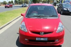 2003 Honda Jazz GD VTi-S Red 7 Speed Constant Variable Hatchback
