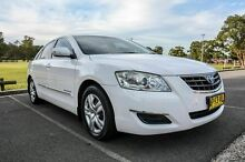 2007 Toyota Aurion GSV40R AT-X White 6 Speed Sequential Auto Sedan Wetherill Park Fairfield Area Preview