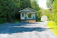 CAMP FOR SALE OR RENT RILEY BROO/ A VENDRE OU LOUER  RILEY BROOK