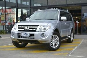 2013 Mitsubishi Pajero NW MY14 VR-X Silver 5 Speed Sports Automatic Wagon Burnside Melton Area Preview