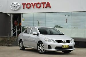 2012 Toyota Corolla ZRE152R MY11 Ascent Sport Silver 4 Speed Automatic Sedan Old Guildford Fairfield Area Preview