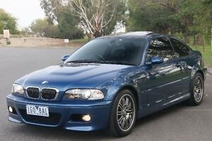 2001 BMW M3 E46 Blue 6 Speed Manual Coupe Ringwood East Maroondah Area Preview