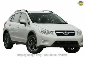 2013 Subaru XV G4-X MY13 2.0i AWD White 6 Speed Manual Wagon Liverpool Liverpool Area Preview