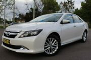 2017 Toyota Aurion GSV50R Presara White 6 Speed Sports Automatic Sedan East Maitland Maitland Area Preview