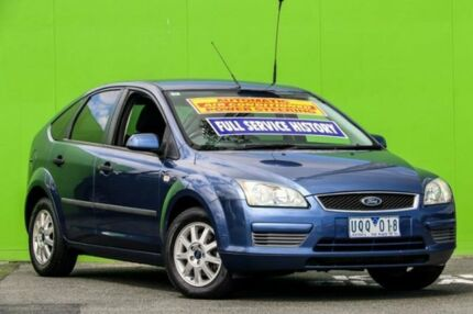 2006 Ford Focus LS LX Blue 4 Speed Sports Automatic Hatchback Ringwood East Maroondah Area Preview