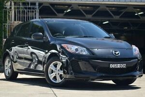 2012 Mazda 3 BL MY13 Neo Black 5 Speed Automatic Hatchback Mosman Mosman Area Preview