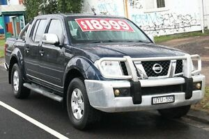 2007 Nissan Navara D40 ST-X (4x4) Dark Blue 5 Speed Automatic Dual Cab Pick-up Briar Hill Banyule Area Preview