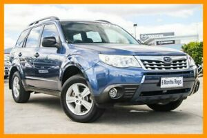 2012 Subaru Forester S3 MY12 XS AWD Blue 4 Speed Sports Automatic Wagon Hillcrest Logan Area Preview