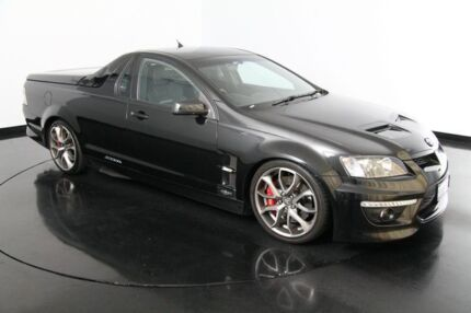 2010 Holden Special Vehicles Maloo E Series 2 R8 Black 6 Speed Manual Utility Victoria Park Victoria Park Area Preview