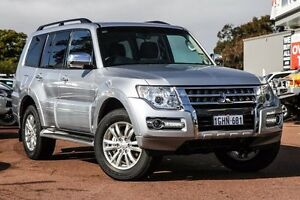 2016 Mitsubishi Pajero NX MY17 GLX Cool Silver 5 Speed Sports Automatic Wagon Wilson Canning Area Preview