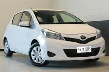 2014 Toyota Yaris  White Automatic Hatchback Nailsworth Prospect Area Preview