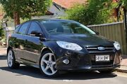 2014 Ford Focus LW MKII Titanium PwrShift Black 6 Speed Auto Sportshift Hatchback Glenelg Holdfast Bay Preview