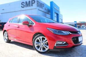 2018 Chevrolet Cruze Premier - RS Pkg, Leather, Rem Start, Rever
