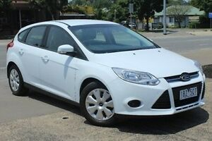 2014 Ford Focus LW MKII MY14 Ambiente PwrShift White 6 Speed Sports Automatic Dual Clutch Hatchback Berwick Casey Area Preview