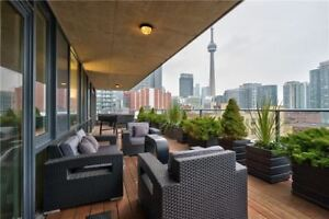 Sun Filled 2-Bdrm Condo w/Exceptional Views Of The City @King St