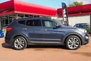 2015 Hyundai Santa Fe DM3 MY16 Highlander Blue 6 Speed Sports Automatic Wagon Fremantle Fremantle Area Preview